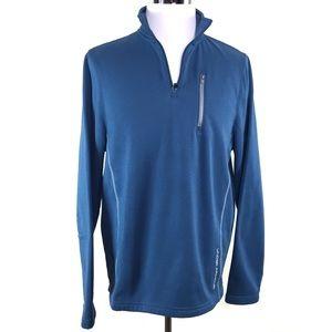 Under Armour Pullover 1/4 Zip Fleece Jacket Sz LG